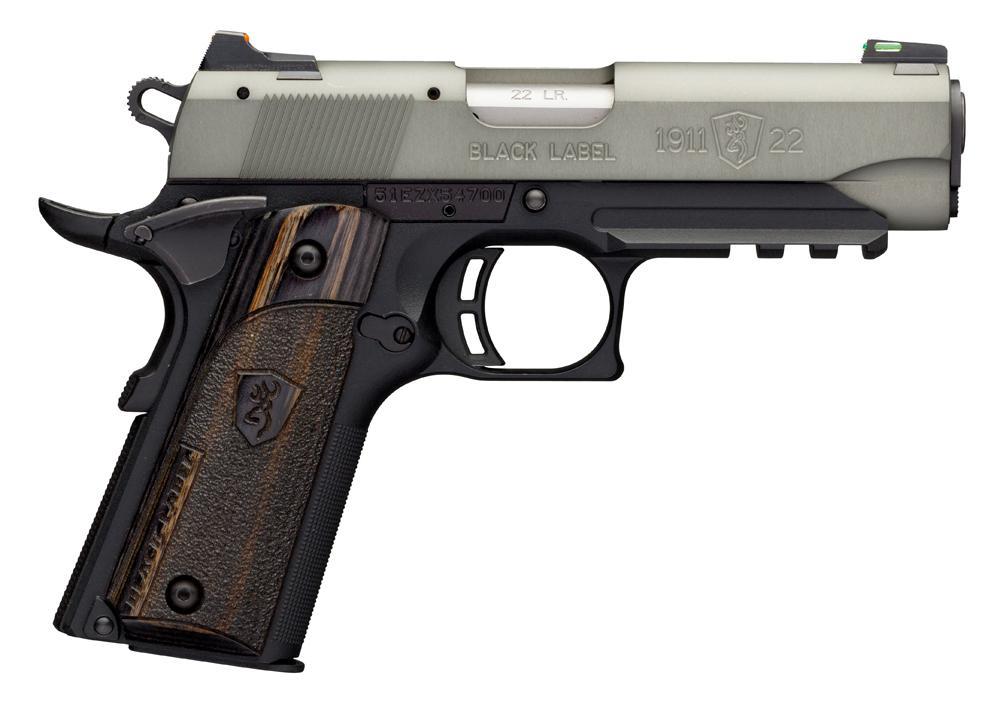 Manufacturer Coupons Mail >> Browning 1911-22 Single Action Pistol 051850490, 22 LR, 3 ...