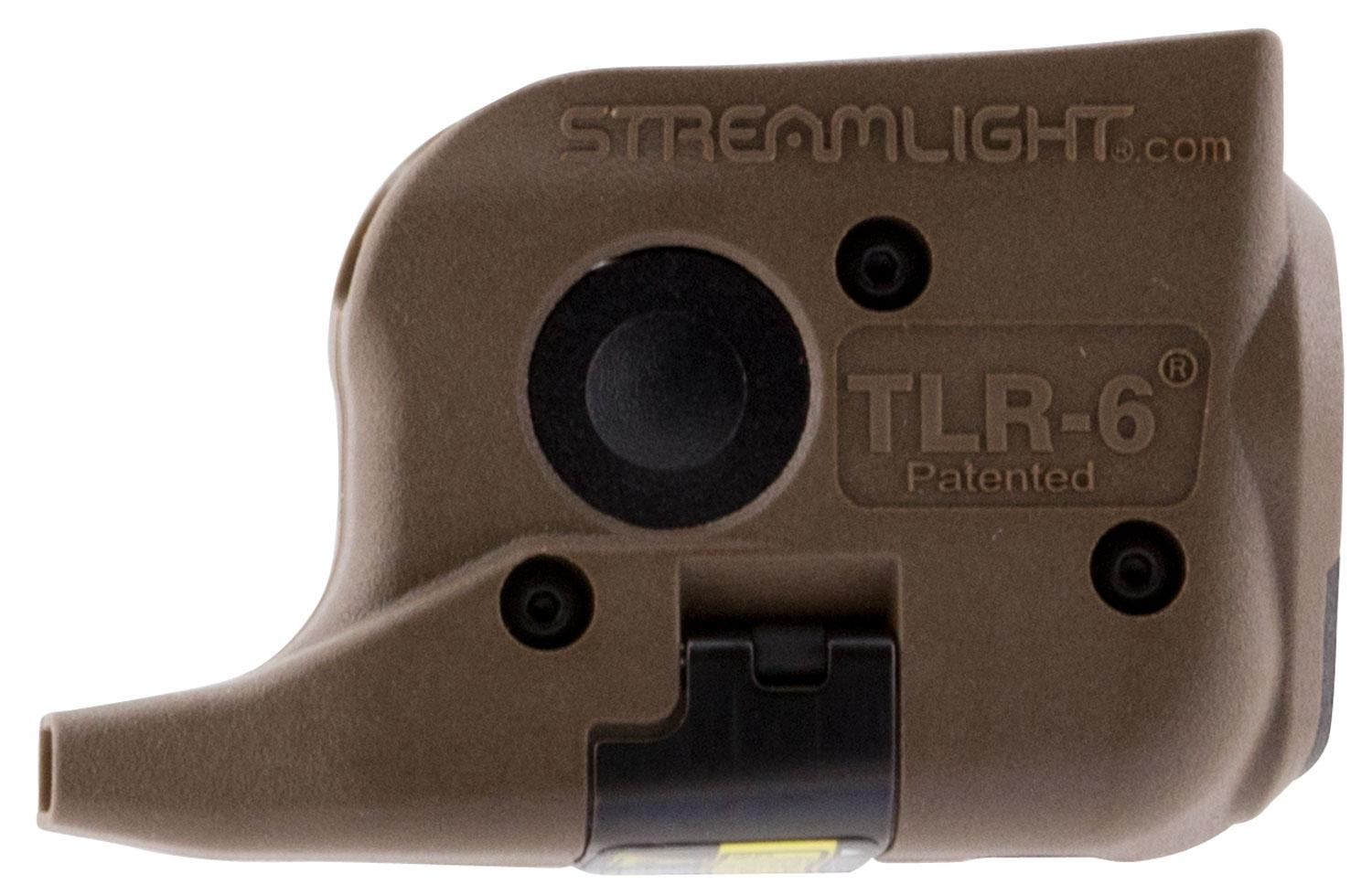 Streamlight 69278 Tlr 6 Mounted Laser Light Combo Flat Dark Earth