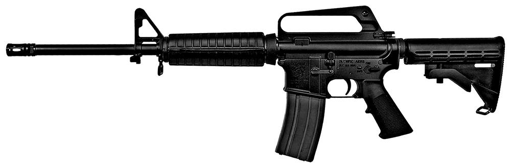 Olympic Arms Plinker Plus Compact AR-15 Semi-Auto Rifle ...