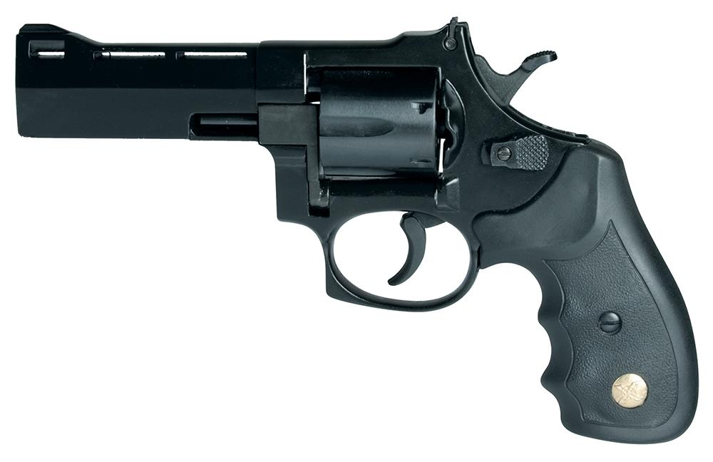 Bersa Comanche II-A Double Action Revolver CR21002, 38 Special, 3 inch,  Black Synthetic Grips, Blued All - Able Ammo