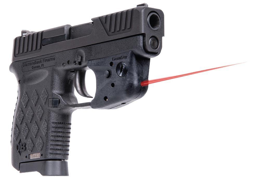 Diamondback Db9 W Laserlyte Double Action Pistol Db9ll
