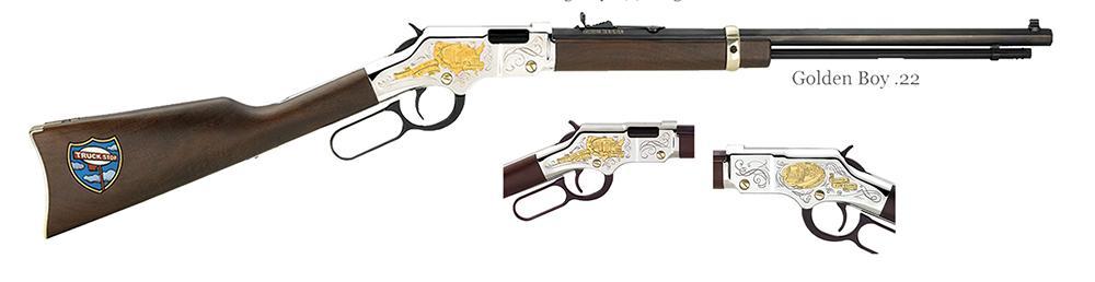 Henry Golden Boy Truckers Tribute Lever Action Rifle H004tt 22 Lr