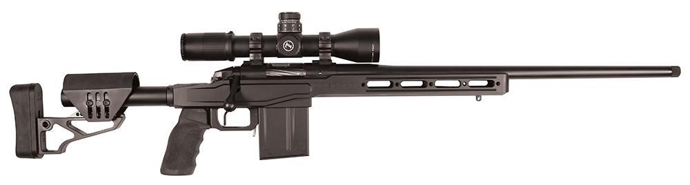 Bergara BPR-17 Bolt Action Rifle BPR1765C, 6 5 Creedmoor, 22 inch, Aluminum  Black Stock, Black Finish, 5 - Able Ammo