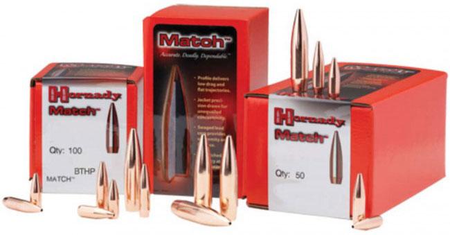 Hornady Rifle Bullet  30 Caliber 168 Grain ELD-Match 100/Box