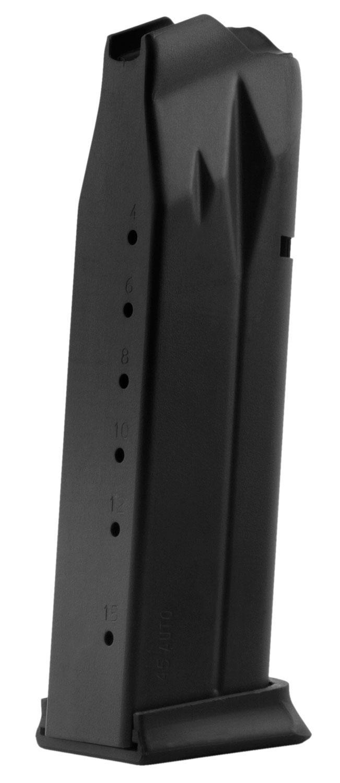 Remington 1911 Double Stack 45 ACP 15 Round Black Double Stack Magazine  (17827) - Able Ammo