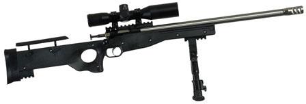 Crickett Precision Single Shot Rifle w/Scope KSA2159, 22 LR, 16 1/8 inch  Threaded, Black Stock, Blued St - Able Ammo