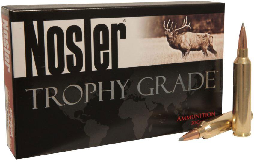 Nosler Accubond Long Range Rifle Ammunition 60099, 33 Nosler, Accubond LR,  265 Gr, 2775 fps, 20 Rds - Able Ammo