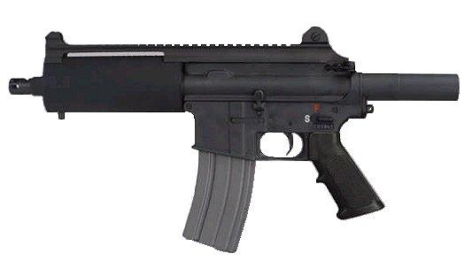 """Bushmaster Carbon 15 Type 21 Pistol AZC15P21S, 223 Remington, 7 1/4"""","""