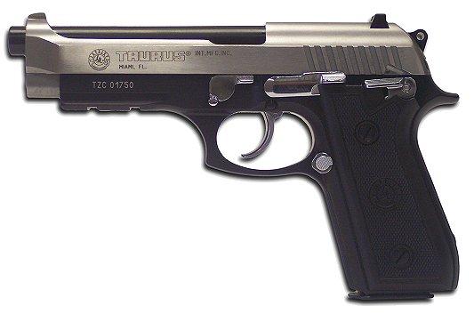 Taurus Model PT-92 Large Frame *Exclusive* Pistol 1920151SPL17, 9mm ...