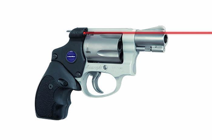 Lasermax LMSJMAXH Laser Grip For Su0026W J Frame Round Butt W/Hammer   Able Ammo