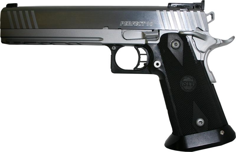 STI Perfect 10 2011 Pistol 10-310008, 10mm, 6 in, Steel Frame, Black ...