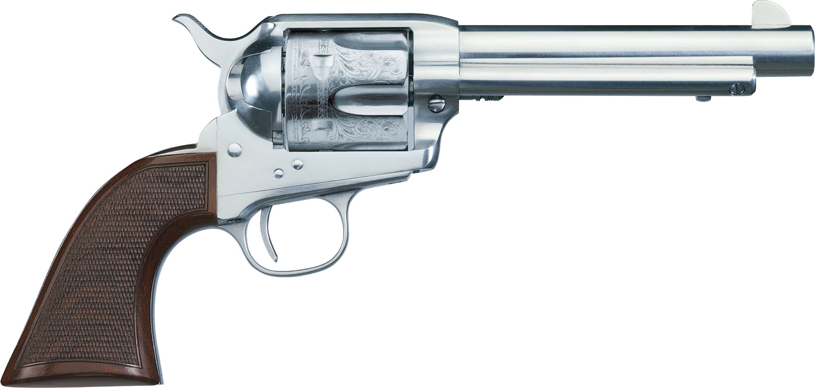 "Manufacturer Coupons Mail >> Uberti 1873 El Patron Belleza Limited Edition Revolver 345090, 45 Colt, 5.5"", Walnut Grip ..."