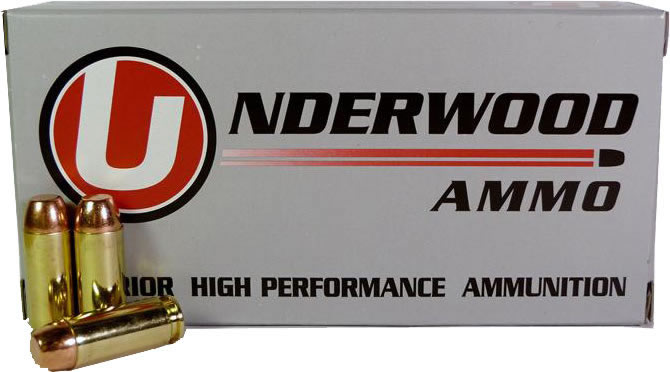 Underwood Handgun Ammunition UA247, 10mm, Jacketed Hollow Point, 200 GR,  1250 FPS, 20 Rd/bx - Able Ammo