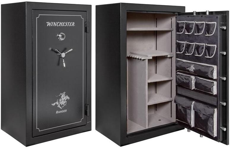 Winchester Ranger Series 1 Hour/1400° Fire Rating Gun Safe RANGER30,  59X36X27, 30 Gun Capacity - Able Ammo