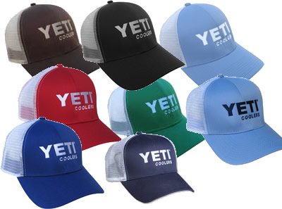 6261aac7807 Yeti Coolers Traditional Trucker Baseball Caps Hats