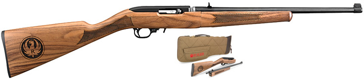 Ruger 10/22 Classic 50th Anniv Takedown Rifle 11187, 22 LR, ...